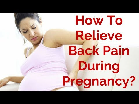 How Relieve Back Pain During Pregnancy? 7 tips for relief  Back Pain During Pregnancy