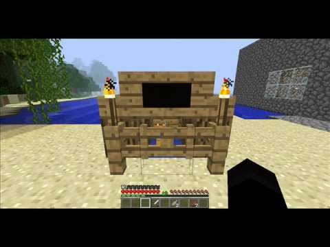 minecraft how to make cat house