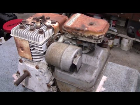 1985 3 HP BRIGGS ENGINE REPAIR (part 1)