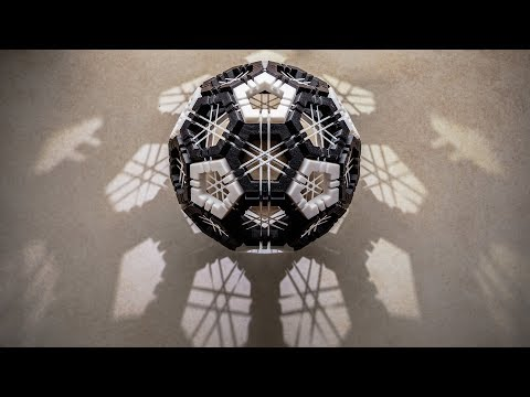 Making of a Truncated Icosahedron Dexterity Puzzle