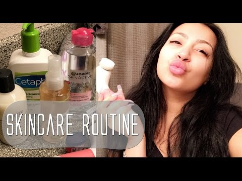 MY EVERYDAY SKINCARE ROUTINE | EVETTEXO