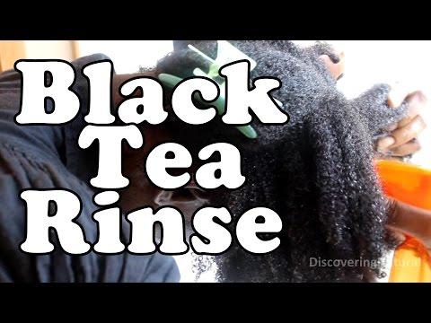 Black Tea Rinse for Natural Hair | Hair Thinning | Stop Hair Loss #NaturalHair