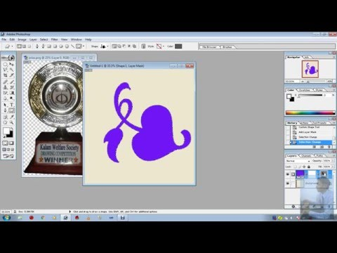 How to Fill a Shape with a Photo in Adobe Photoshop by the best way