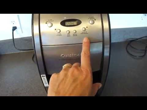 Cuisinart Coffee Grinder and Brewer