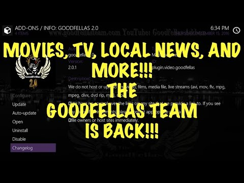 LOCAL NEWS/IPTV/MOVIES/AND MORE WITH GOODFELLAS 2.0!!!