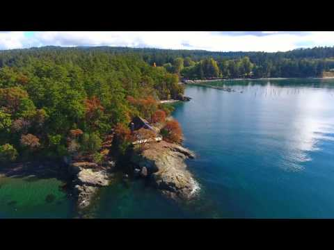 Orcas Island Trip from a Drone Perspective