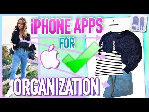 7 Best iPhone Apps For ORGANIZATION!