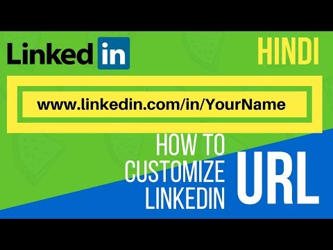 HOW TO CUSTOMIZE LINKEDIN URL | CHANGE CUSTOM LINK FOR YOUR PROFILE - HINDI