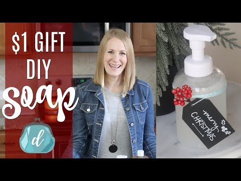 $1 GIFT IDEA! ❤️  Best DIY Foaming Hand Soap