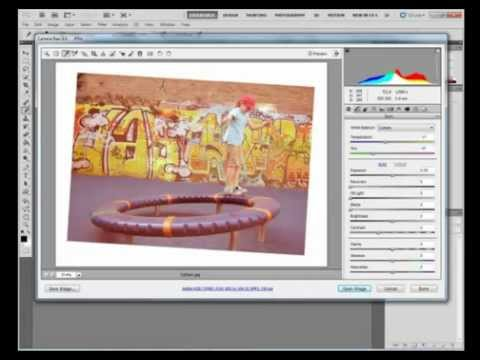 Photoshop Tutorial: How to Adjust Camera Raw Images in Photoshop CS5