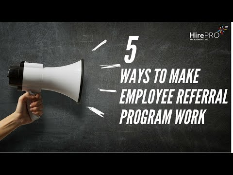 5 ways to make your Employee Referral Program work