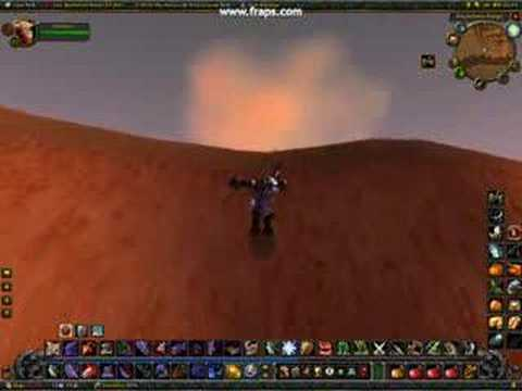 The wierd mountain in the middle of Kalimdor