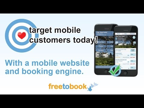 Mobile hotel website -- Get a mobile website for your hotel, guest house or B&B