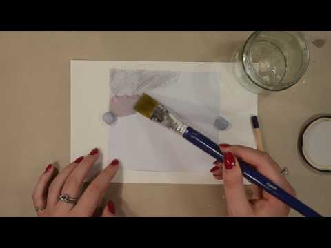 Acetone Printing (Image transfer technique)