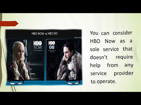 Difference Between HBO Go And HBO Now