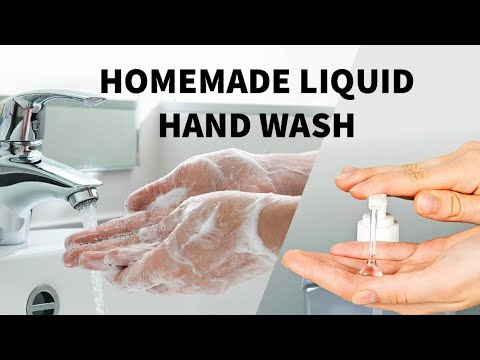 HOW TO MAKE LIQUID HANDWASH AT HOME USING SIMPLE INGREDIENTS