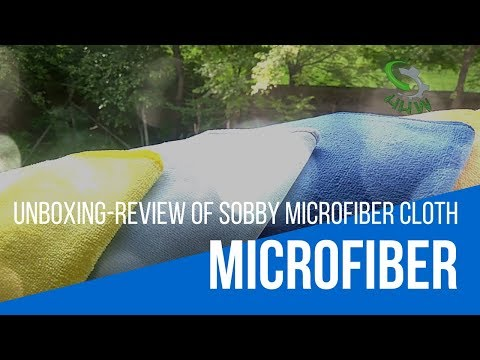 Best Quality Microfiber Cleaning Cloth (Sobby Microfiber's Review)