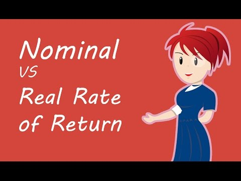 Nominal vs Real Rate of Return | Inflation-Adjusted Return on Investments | Concepts by Yadnya