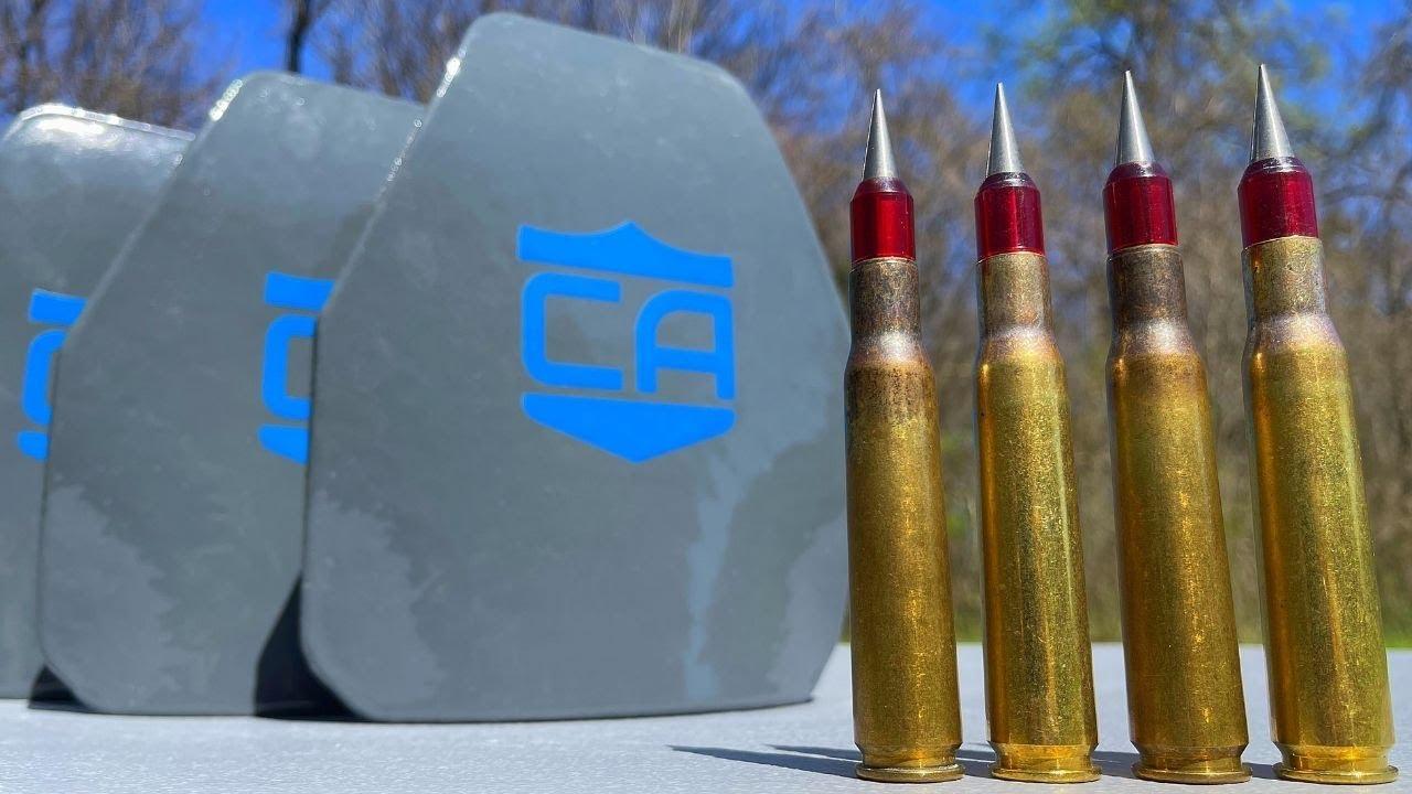 50 Cal SLAP vs Body Armor 💥