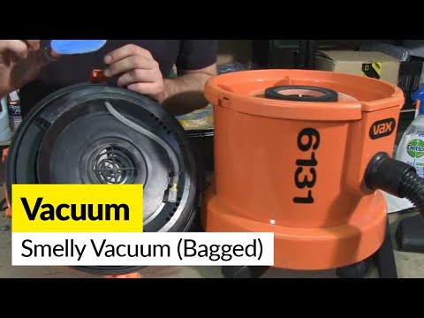 How to fix a smelly vacuum - Bagged