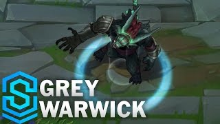Grey Warwick (2017 Rework) Skin Spotlight - Pre-Release - League of Legends