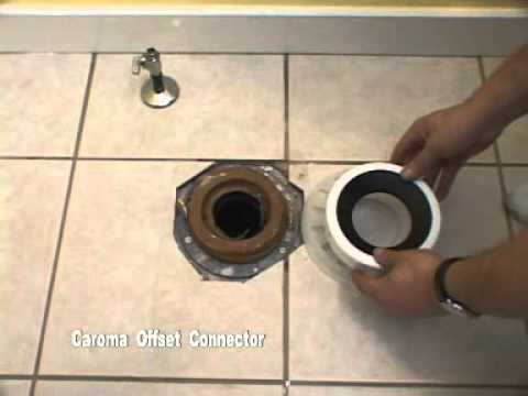 Installing a Caroma 270 Dual Flush Toilet