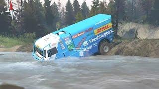 Spintires   Kamaz Dakar   Camión de Rally