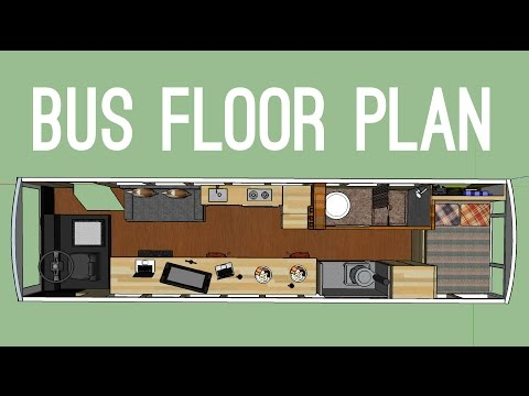 Planning the Floor Layout for our School Bus to Tiny Home Conversion