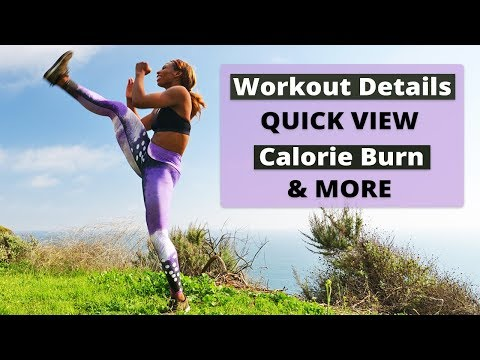 Insta View - Workout at a Glance with Individual Moves, Calorie Burn & More