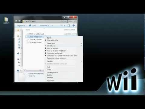 How to install D2x WiiU/vWii NTSC-U