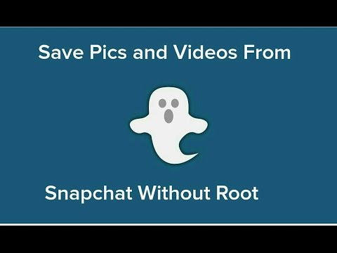 How To Save Snapchat Story's, Pics, And Videos Without Root Or The Xposed Framework!!!  *Casper*