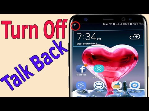 TalkBack : How To Turn Off/ Disable Talk Back On Samsung Galaxy J7/S7/S8/S9 - Helping Mind