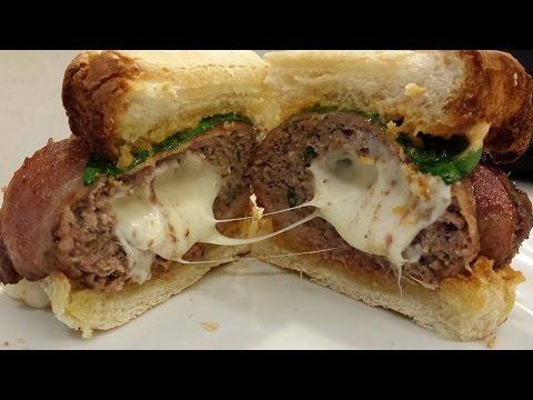Bacon Ranch Turkey Cheese Burger Sliders