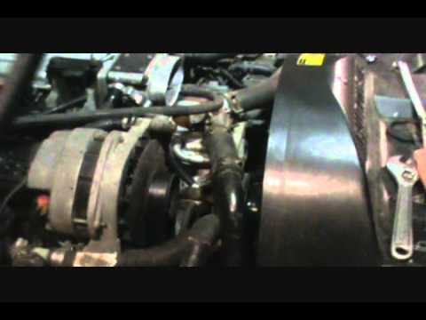 How to completely drain GM LT1 engine coolant