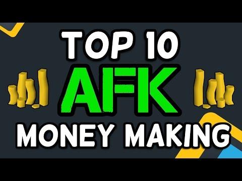 Top 10 AFK Money Making Methods - Runescape 2017