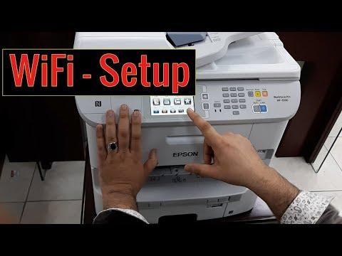 Epson WorkForce Pro WF-6590 | Wireless Setup