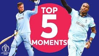 Roy? Archer? | Australia vs England - Top 5 Moments | ICC Cricket World Cup 2019