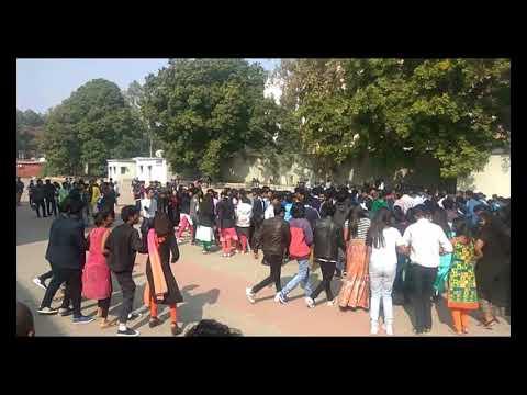 Xavier's college , chain dance , nagpuri latest video , nagpuri video, girls boy masti, nagpuri song