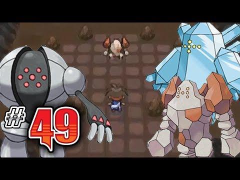 Let's Play Pokemon: White 2 - Part 49 - Regirock, Regice, Registeel