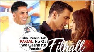 Akshay Kumar's BEST Reaction On Filhall Song Crossing 200 Million At Good Newwz Trailer Launch1