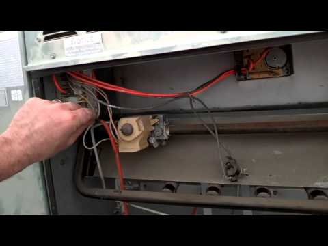 Flame roll-out and a cracked heat exchanger