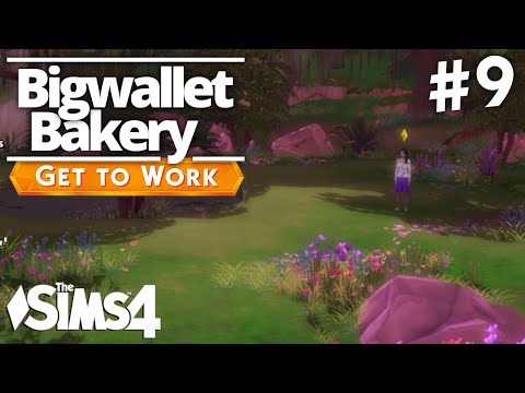 The Sims 4 Get To Work - Bigwallet Bakery - Part 9