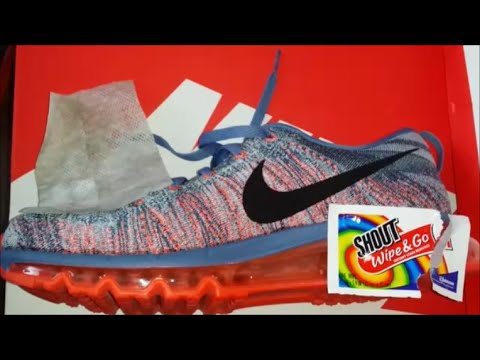 HOW TO CLEAN AND REMOVE SHOE STAINS RESTORE NIKE SHOES LIKE BRAND NEW