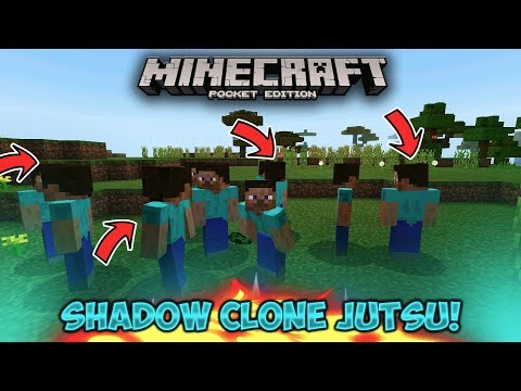 How To Make Attacking Clones! - Minecraft PE (Pocket Edition)