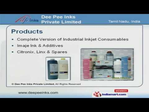 Inkjet Printer Inks by Dee Pee Inks Private Limited, Chennai