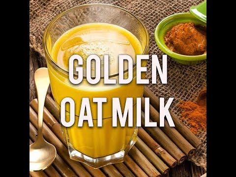 Fast Forward Cooking Golden Oat Milk