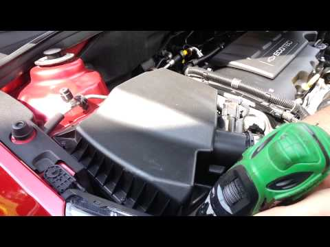 How to change CHEVROLET CRUZE air filter
