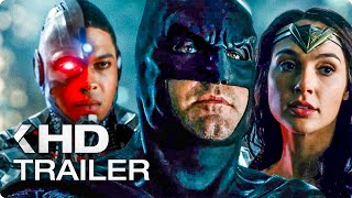 Justice League ALL Trailer & Clips (2017)