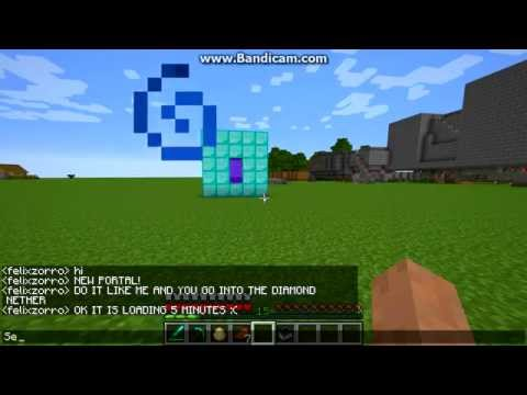 Minecraft Ps3 - How to make a Diamond Portal(Troll Idea:D)