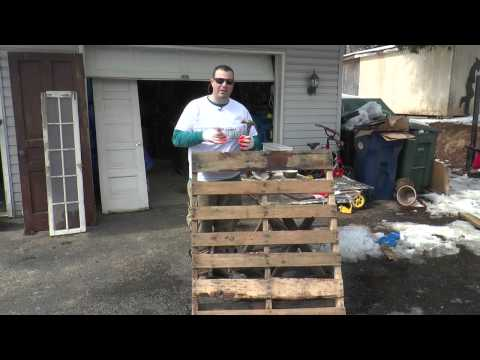 Season 1, Episode 21: How to deconstruct a pallet